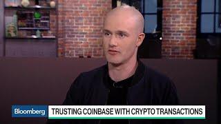 Coinbase CEO on Crypto Surge, Bitcoin Futures, IRS