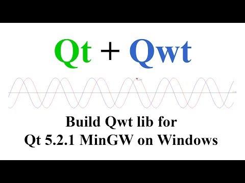 Qt + Qwt. Build and install Qwt lib for Qt 5.2.1 MinGW on Windows