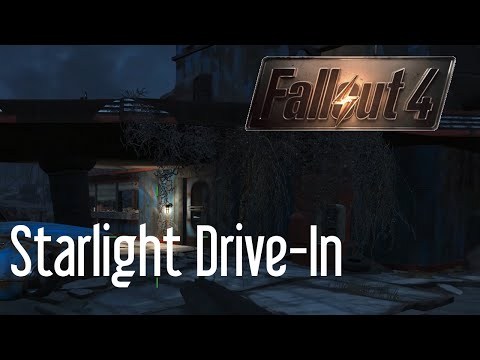 Setting Up the Starlight Drive In in Fallout 4