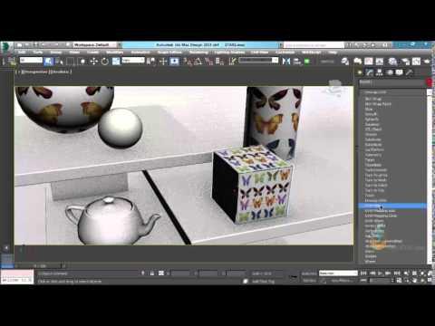Thực hành 3ds Max - Bài 66 Lệnh UUWmap - ứng dụng hiệu chỉnh vật liệu trong 3Dsmax