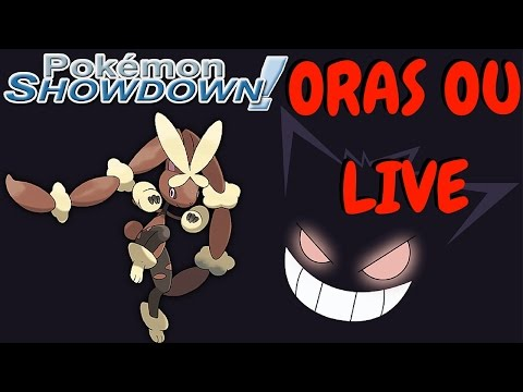 Pokemon Showdown (ORAS) OU Live 13: Mega-Lopunny and Gengar Hyper Offense