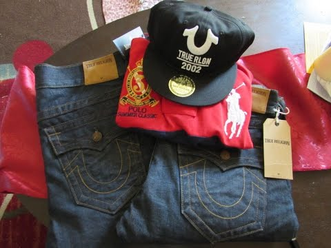 How to flex and get True Religion and Polo Ralph Lauren for the low under $40!!
