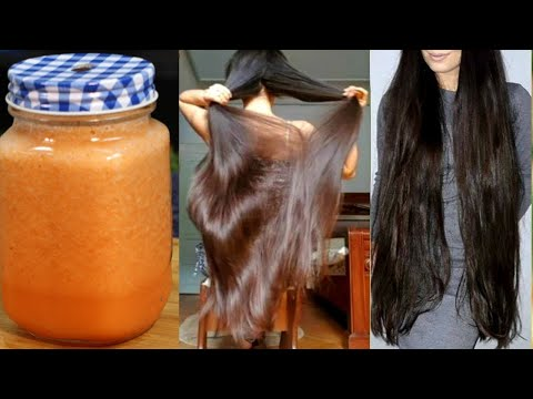 My Grandma Told me Secret For Long & Thick Hair | Unbelievable Results