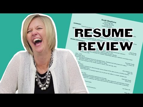 Purdue Students and Staff Review Resumes