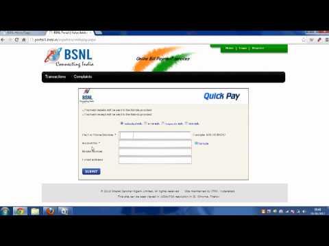 How to Pay BSNL Bill Online | Broadband and Landline
