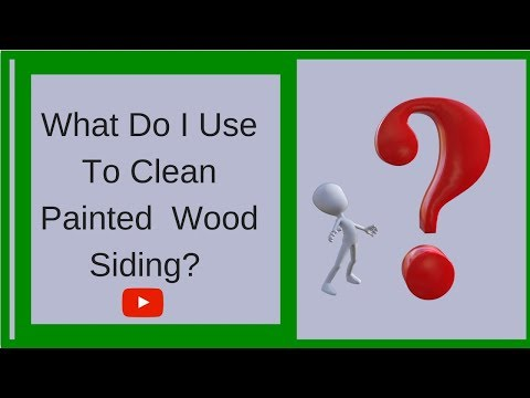 Remove Mold On Wood Siding-Power Washing Amazing Results Without Pressure