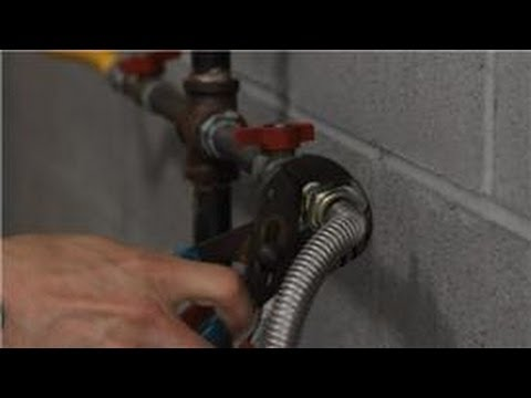 Gas Dryer Repair : How to Stop a Leaking Gas Hose on a Dryer