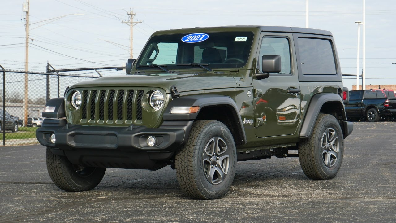 2021 Jeep Wrangler Sport S For Sale   30030T