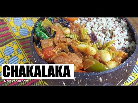 How to make Chakalaka - Naija Vegan