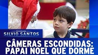Câmeras Escondidas (25/12/16) - Papai Noel que dorme