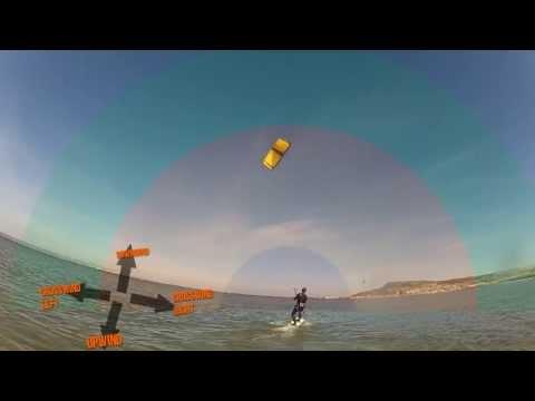 Kitesurfing lesson: how to water start