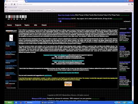 HOU  TO  BREAK PASSWORD  ADMINISTRATOR WINDOWS XP.VISTA AND 7
