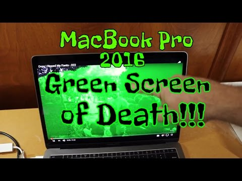 Macbook Pro 2016 REVIEW / UNBOXING and GREEN SCREEN OF DEATH ?? -
