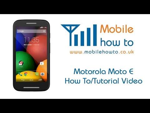 How To Set Message Alert/Notification Tone - Motorola Moto E
