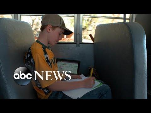 Google equips school buses with WiFi