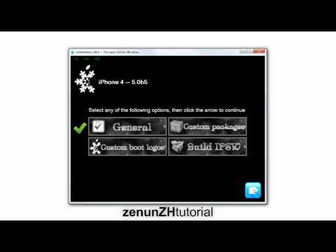 Get iOS 5 for FREE no UDID (iOS 5 Beta 7 Jailbreak) - zenunZHtutorial Nr.1