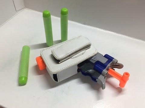 Easy DIY Nerf Jolt Holsters!
