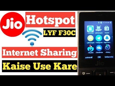 Jio Phone F30C Omnisd Hotspot Kaise Install Kare ! How To install