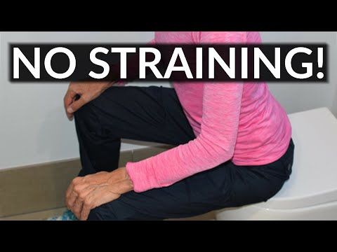 How to Empty Your Bowels Without Straining