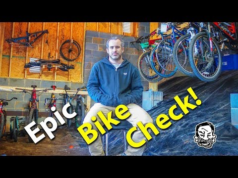Massive Bike Check & Dungeon Build!