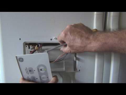 How to repair a frozen GE Refrigerator water dispenser