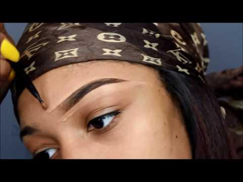 Drugstore Eyebrow Routine   UNDER $10 & 10 MINUTES