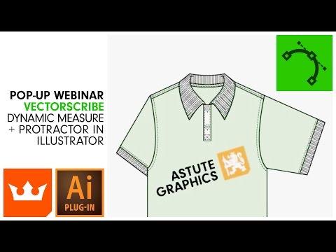 Webinar   VECTORSCRIBE   Dynamic Measure + Protractor in Illustrator