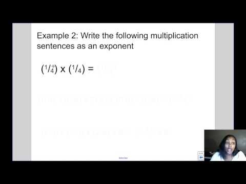 Mrs. Kingsberry- Exponents with Fractions and Decimals