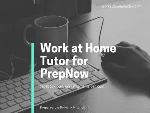One Job Minute: Remote Tutoring With PrepNow