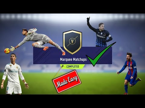 FIFA 18 Marquee Matchups Made Easy!  Dec. 19    We Pack a Walkout!