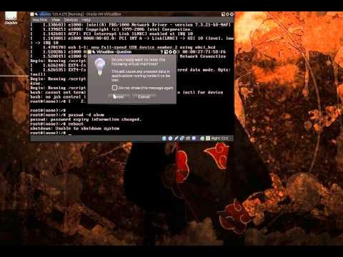 Reset Ubuntu Administrator account