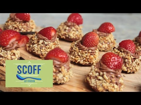 Olivia's Strawberry, Chocolate and Hazelnut Kisses | Friday Food Off Series 1 Part 7