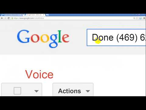 How to Create Google Voice USA Number- tips 2018