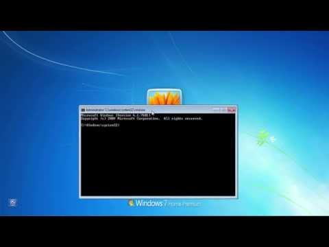 How to: Get a command prompt on windows login screen with SYSTEM privileges!!