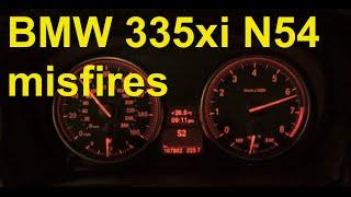 Misfire Diagnosis and Spark Plug Change e90 BMW P0301