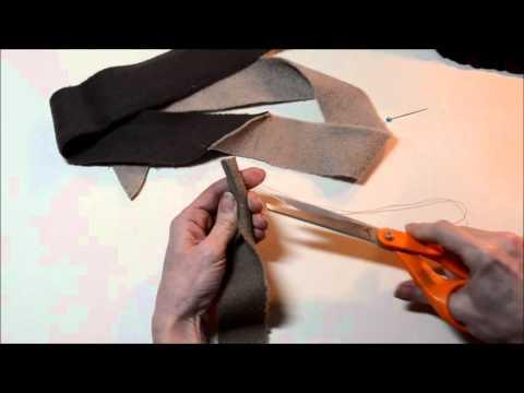 Beginning Rug Braiding: Making a T-Start