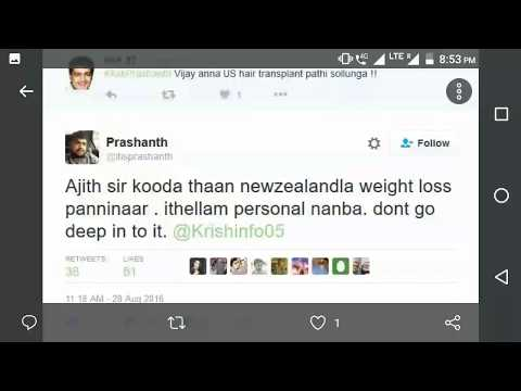 Reviewer Prashanth - Pure Thala Ajith hater , check his deleted tweets in this video