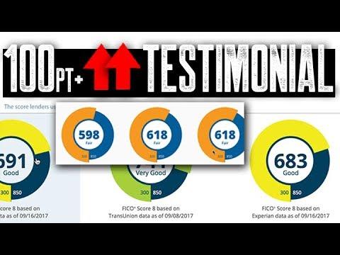 120+ Points FICO Score Increase FAST || Easy 609 Credit Repair Testimonial