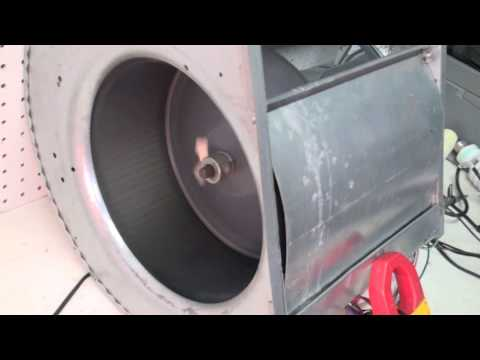 Furnace fan motor speed control