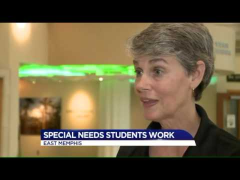 Special Needs Students Get Volunteer Experience at Baptist Women's