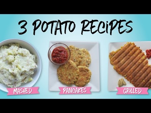 Potato Cakes Recipe : Oven Baked or Crunchy Grilled Goodness