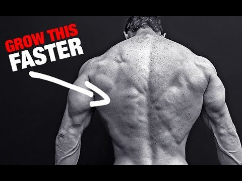 How to Get a Bigger Back (LIGHT WEIGHTS!)