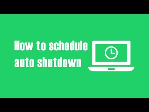 How to Schedule Auto Shutdown, Log-Off & Hibernate on Windows 10 PC?