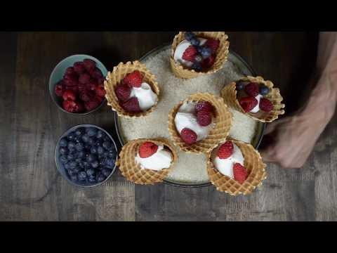 The Everyday Chef: Waffle Cone Parfaits w/ Greek Yogurt & Fruit