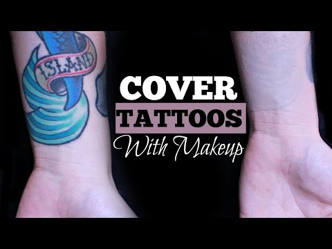 How to Cover Tattoos With Makeup