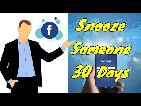 "How to ""Snooze"" Someone or a Page for 30 Days on FB ✔️?"