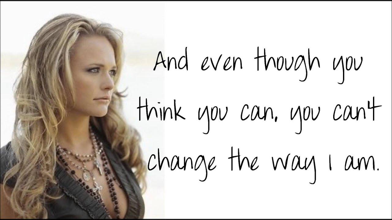 Miranda Lambert - Girl Like Me