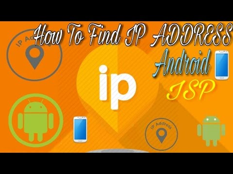 How To Find IP Address, Internet Service Provider, etc Information of Android Mobile