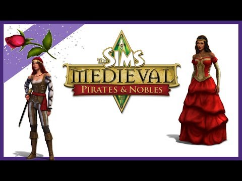 The Sims Medieval Ep 1 Creating  a Evil Queen