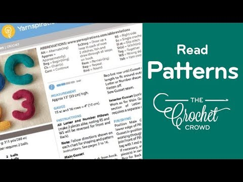 How to Read Crochet Patterns 🚌